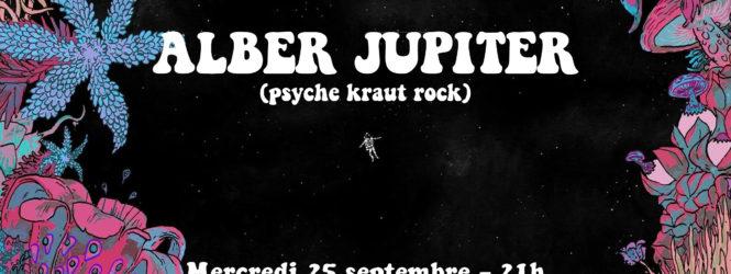 Concert BAM : Alber Jupiter à l'Intermédiaire – 25/09/19