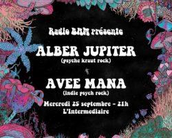 Les Lives de BAM : Avee Mana & Alber Jupiter à l'Intermédiaire