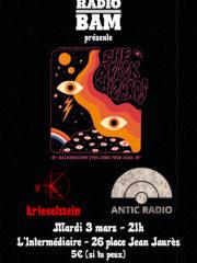 The Black Wizards / Kriegelstein/ Antic Radio @ L'Intermédiaire – 03/03/2020